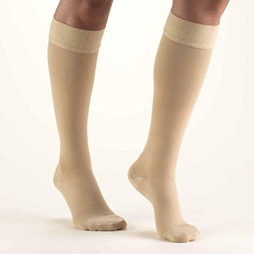 Activa Class 1 Below Knee Compression Hosiery, Sand, Mediu