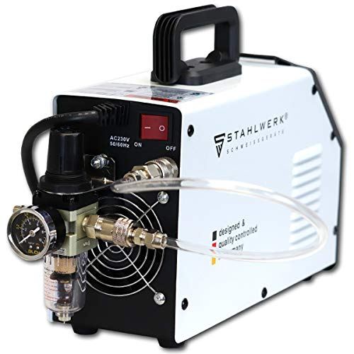 STAHLWERK CT550 ST – kompaktes WIG/MMA Schweißgerät mit Plasmaschneider bis 12mm, 200 Ampere WIG/MMA + 50 Ampere CUT, 7 Jahre Garantie, weiß - 5