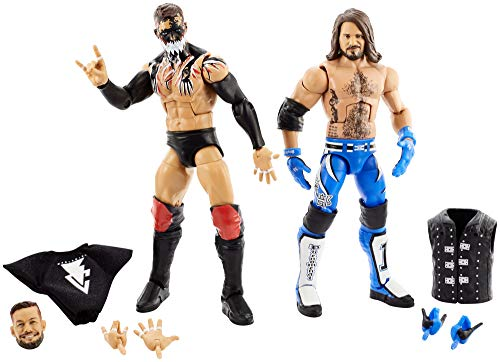 WWE Mattel GLG16 WWE Finn Balor vs AJ Styles Elite Collection 2 Unidades