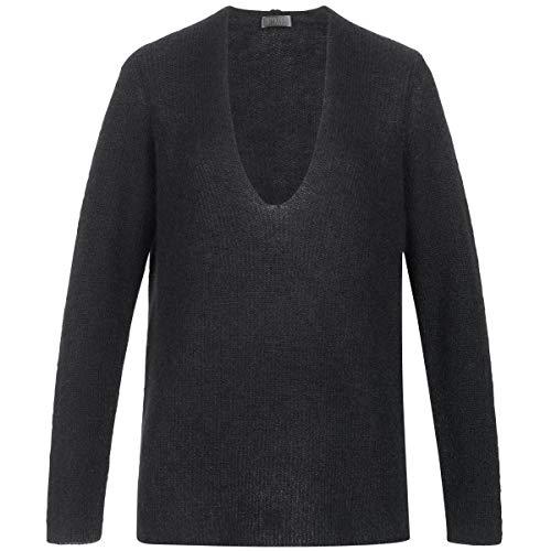 Drykorn Pullover SELEN mit V-Ausschnitt XS schwarz