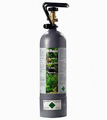 WFW wasserflora 2kg CO2-Füllung für Aquaristik - Kohlensäure sofort - Füllung Ihrer leeren Mehrweg-Flaschen