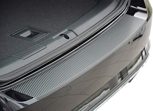 Tuneon Ladekantenschutz.aus Edelstahl-Carbon für Golf 7 Variant