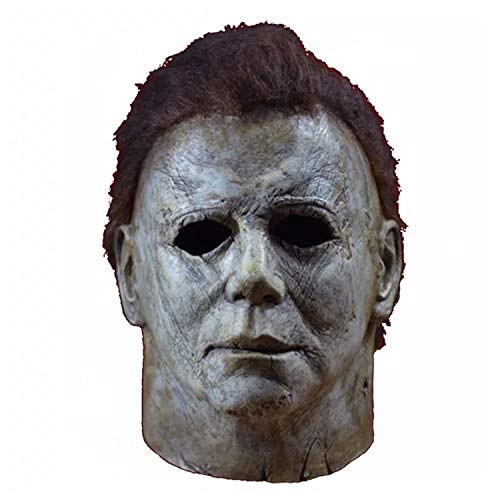 Halloween Hot Movie Latex Horror Michael Myers Mask Adults Cosplay Masks Grey