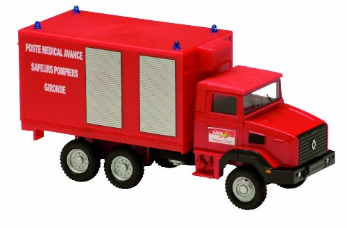 Solido 421505320 - 1998 Renault 180 PMA, Fireworkers, 1:50 Die Cast