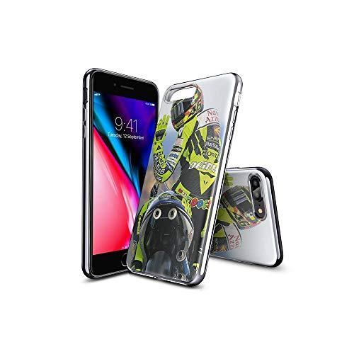 TsFKxEU Compatible con iPhone 7 Plus Funda and iPhone 8 Plus Funda diseño de Dibujos Animados, Suave de TPU Protector Delgado a Prueba de Golpes para iPhone 7 Plus/iPhone 8 Plus FKX#B002