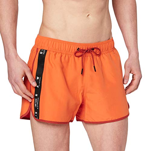 G-STAR RAW Dend Tape Traje de baño de una Pieza, Acid Orange A505-b214, M para Hombre