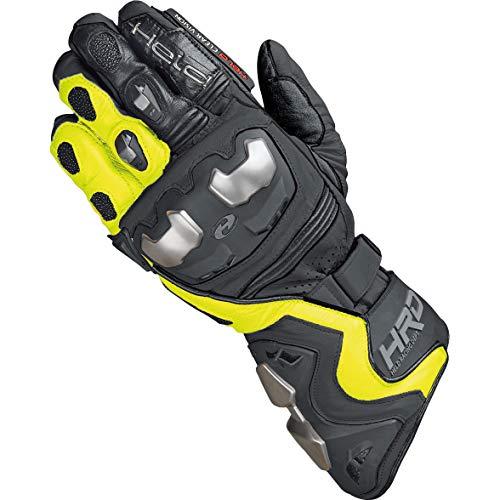 Held Motorradhandschuhe lang Motorrad Handschuh Titan RR Handschuh schwarz/neongelb 8,5, Herren, Sportler, Ganzjährig, Leder
