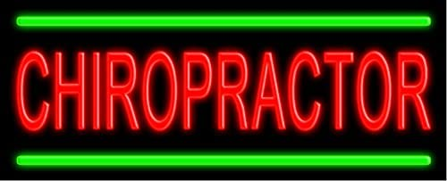 OFFicial Fort Worth Mall shop Chiropractor Glass neon Sign USA #10524 Made in