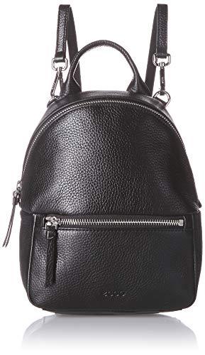 ECCO Damen SP 3 Mini Backpack Rucksack, schwarz, Einheitsgröße