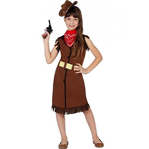 Atosa - 23814 - Costume - Déguisement De Cow-girl - Fille - 10-12 ans ( Taille 4 )