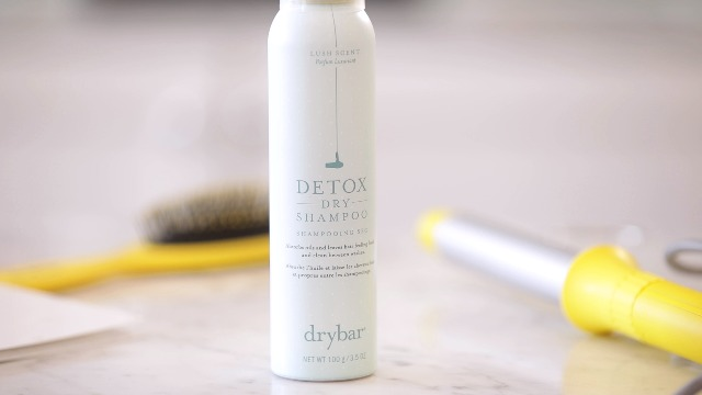 Use dry shampoo to freshen up your hair