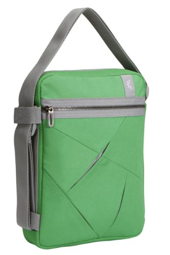 Netbook-Tasche Nylon grün/grau 10,2
