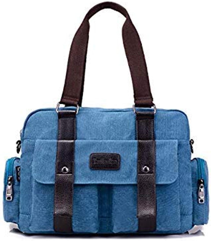 Bloomerang High Quality Canvas Frabics Women's Tote Bags Handbag 2016 New Fashion Shoulder Bag Vintage Women Hand Bags Large Messenger Bags color blueee Tote Handbag Tote Handbag