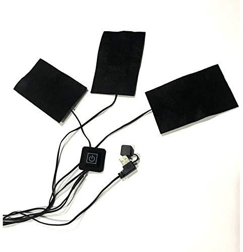 Jadeshay USB-Wärmepads - 5V elektrische USB-Heizpads für 8,5 Watt für Outdoor-Camping im Freien