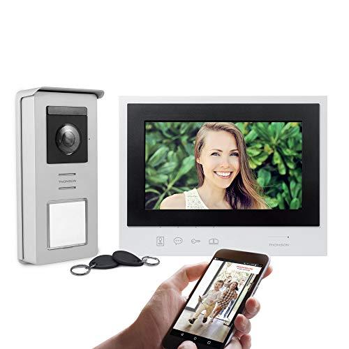 Smart Connect - Videoportero de 2 Hilos con Pantalla de 7 Pulgadas