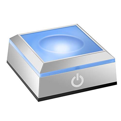 LED Light Base Kugelförmiger Einbauständer mit berührungsempfindlichem Schalter für 3D-Laserkristallglas Art.-Nr. (LED Light Base Sphärisch)