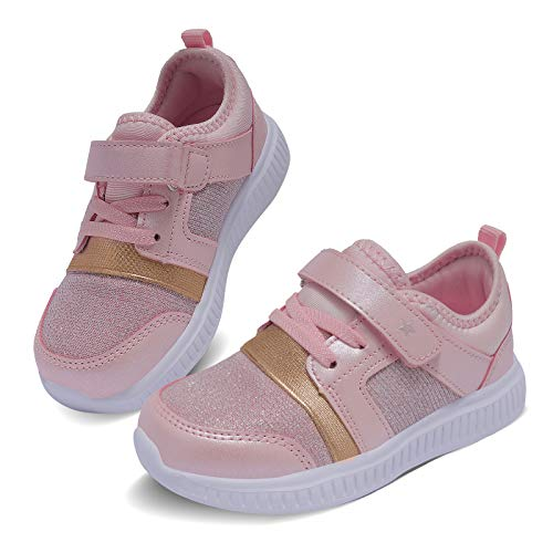 Pink Boy Athletic Shoes