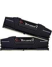 G Skill F4-3200C15D-16GVK - Tarjeta de Memoria de 16 GB, Color Negro