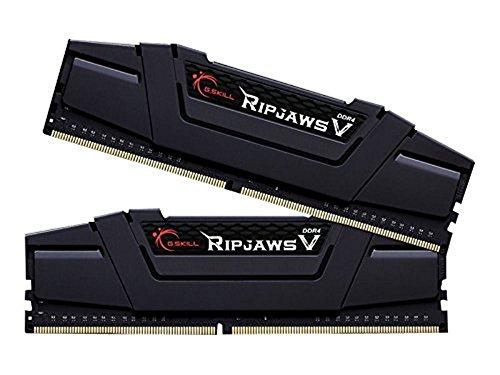 Gskill F4-3600C16D-16GVK Memory D4 3600 16GB C16 RipV K2 2X 8GB, 1,35V, RipjawsV schwarz
