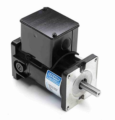 Permanent Magnet 90V DC Motor 1/15 hp 1750 RPM 31BS Frame Leeson Electric Motor # M1120013