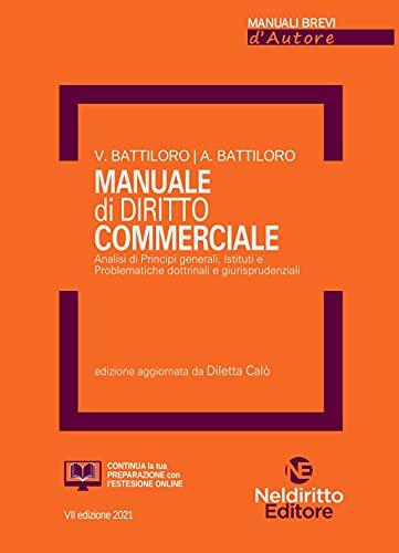 Manuale di diritto commerciale. Ediz. ampliata