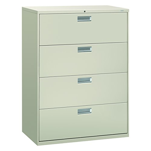 Big Sale Best Cheap Deals HON 694LQ 600 Series 42-Inch by 19-1/4-Inch 4-Drawer Lateral File, Light Gray