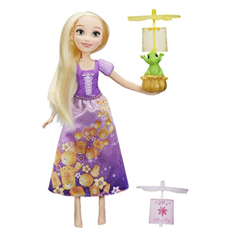 Hasbro Disney Prinzessin C1291EU4 - Rapunzel mit Himmelslaternen, Puppe