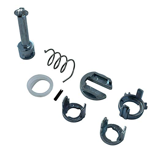 labwork Door Lock Cylinder Barrel Repair Kit for BMW E46 3 Series M3 Front L/R