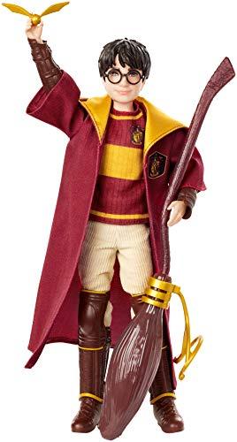 Harry Potter Muñeco Harry Quidditch, juguetes niños + 6 años (Mattel GDJ70) 6