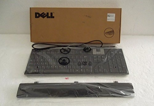 0U473D Dell USB Slim Multimedia Keyboard With Built-in 2 Port USB HUB & Removable Palmrest. Buy it now for 39.99