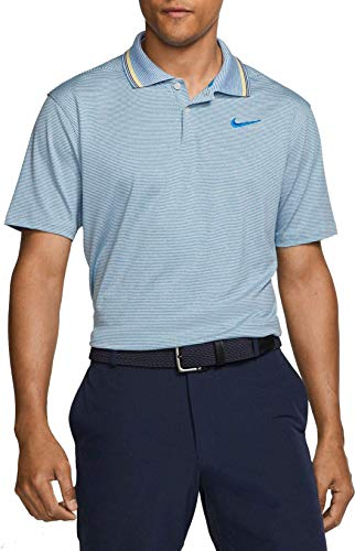 Nike New Dry FIT Vapor Control Golf Polo Photo Blue/Pure X-Large
