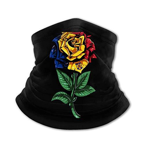 LAKILAN Rumania Bandera Rumano Paño De Manguera,Polaina para Cuello,Pañuelo para La Cabeza,Multiusos De Bandana,Calentador De Cuello De Invierno