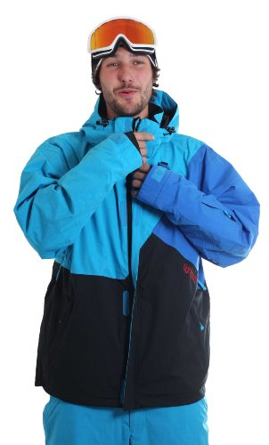 Light Herren Snowboardjacke Tinker, Electric Blue/Black/royal, XL, FA742-10_371