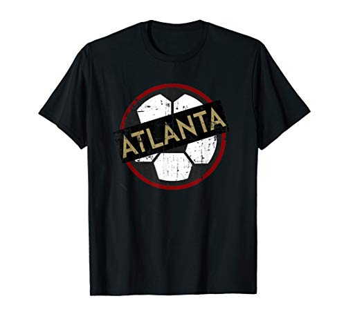 Atlanta Soccer Jersey Style United Football Fan FC T-Shirt