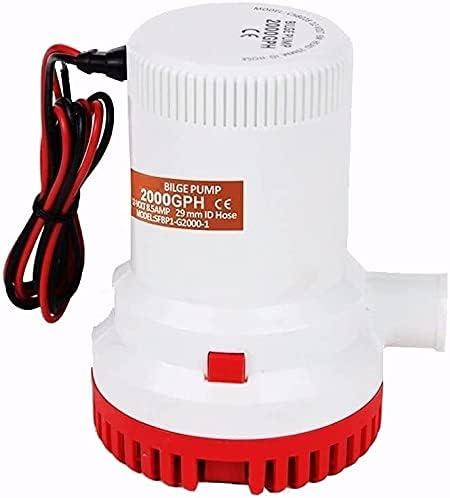 DAYDAY helper Automatic Submersible Small Pump Bilge 2000GP San Antonio Mall Boat Max 86% OFF