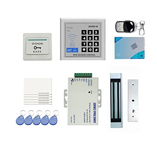 Find Bargain Anself DIY Full Complete RFID Door Access Control Kit Set for Single Door 180kg/396Lbs ...