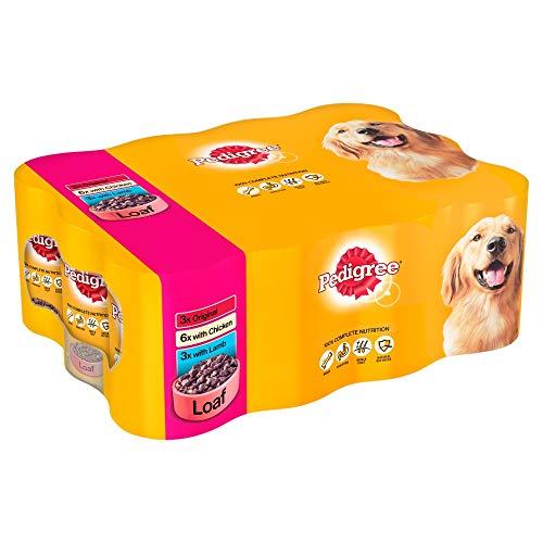 Pedigree Meat Loaf Hunde Nassfutter Sortimentpackung - 12x400g