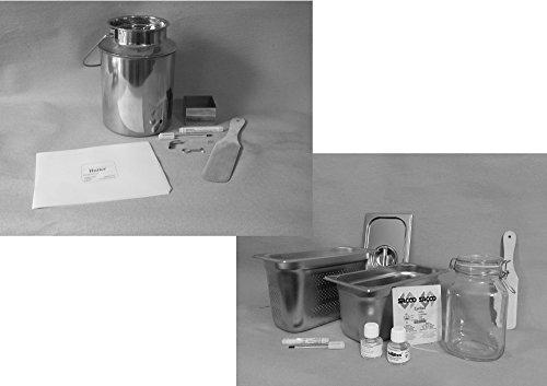 DerButterer Komplett-Set Professional de Luxe: Butter und Quark / Frischkäse