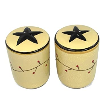 Star Vine Salt and Pepper Set