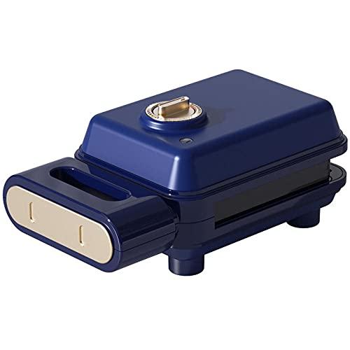 FrüHstüCksmaschine Home Mini Sandwich Maker, Multi-Disc Drei-In-Eins-Waffel Elektrische Backform Kleine...