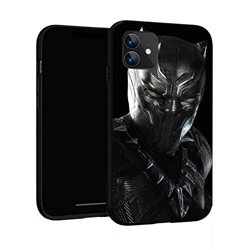 N / A iPhone 11 Case,Basic Case Plastic Cover for iPhone 11 (Black Panther-4)