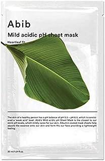[Abib] MILD ACIDIC pH SHEET MASK HEARTLEAF FIT 30ml 10ea