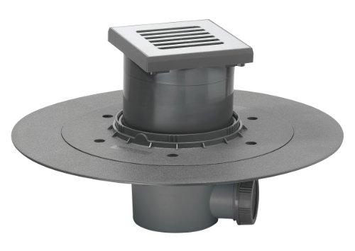 Wirquin 30718095 D40 - Sifón para suelo de ducha estilo italiano