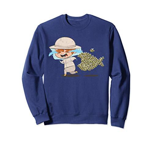 Imker Geschenk Honig Imkern Sweatshirt