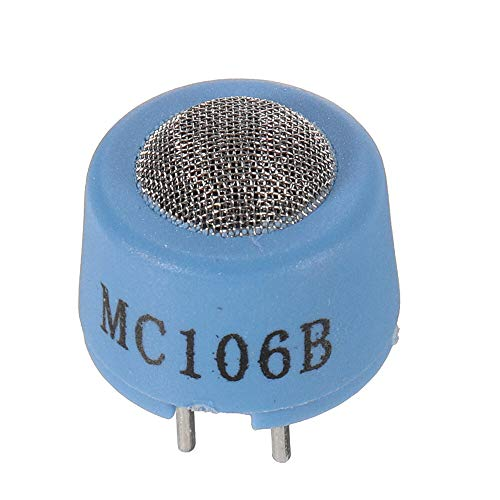 hgbygvuy 10pcs MC106B Módulo de Sensor de Gas de combustión catalítica para detectores de Alarma de Gases de Gasolina inflamable