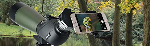 Product Image 5: Gosky Universal Cell Phone Adapter Mount – Compatible Binocular Monocular Spotting Scope Telescope Microscope-Fits almost all Smartphone on the Market -Record The Nature The World
