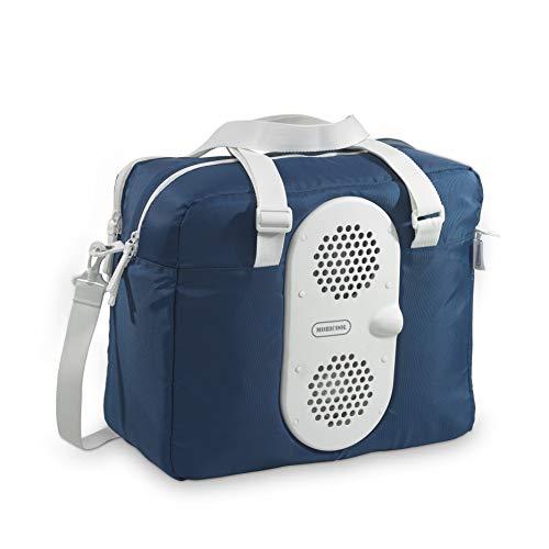 Mobicool MB25, tragbare thermo-elektrische kühltasche 23 Liter, 12 V, Kühlung bis 15°C unter Umgebungstemperatur für Auto, Einkauf und Picknick