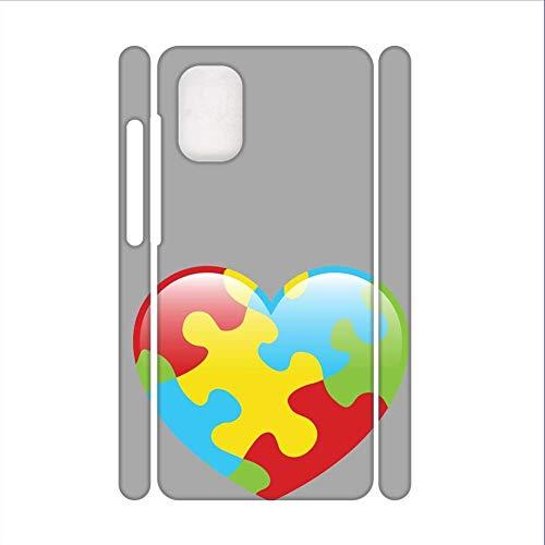 Babu Building Print with Autism 1 Thin Hard Rigid Plastic Phone Shell Use for Samsung S20 Ultra Boys