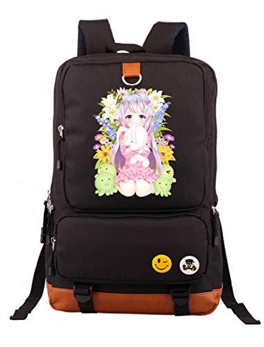 Cosstars Eromanga Sensei Anime Laptop Rucksack Schultasche Büchertasche Schulrucksack Student Backpack