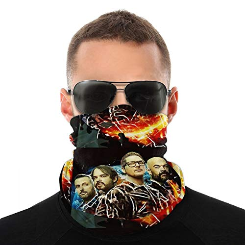 Nasculi Ghost Adventures Zak Bagans Staubdichtes Winddichtes Gesicht Bandana Protection Variety Kopftuch Unisex